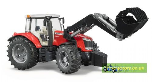 MASSEY FERGUSON 7624 WITH LOADER
